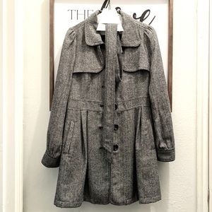 Tweed Forever 21 Trench Coat